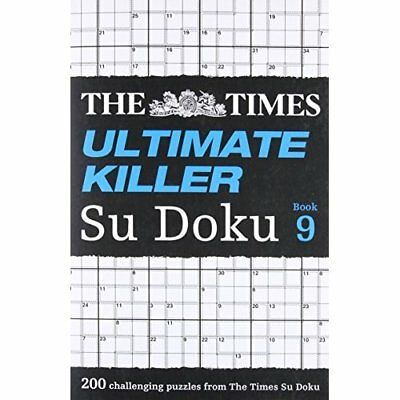 The Times Ultimate Killer Su Doku Book 9 (Times Mind Ga - Paperback NEW The Time
