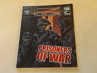 Commando War Comic Number 4862,2015 Issue,v Good For Age,02 Years Old,very Rare.