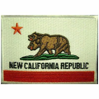 Fallout New California Republic Iron On Patch Cosplay Fancy Dress Badge/Applique
