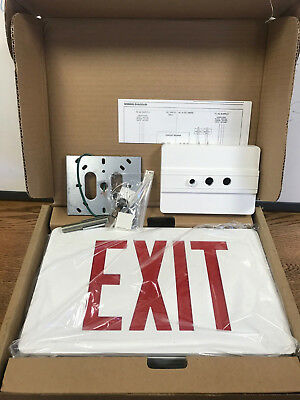 SURE-LITES Exit Sign (by Cooper Lighting) CAX610000RW & SURE-LITES BY COOPER Lighting Contractoru0027s Choice Exit Sign ...