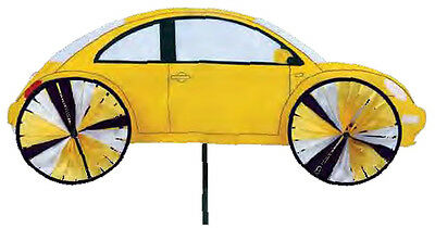 "VW Volkswagon Beetle Staked Wind Spinner 38"" With Pole & Mount..29 PR 25986"