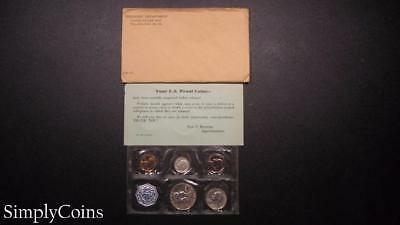 1959 Proof Set ~ Original Envelope With COA ~ US Mint Silver Coin Lot SKU-855