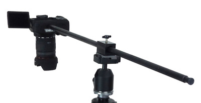 ALZO Horizontal Camera Mount, Tripod Accessory for Overhead Product Photography