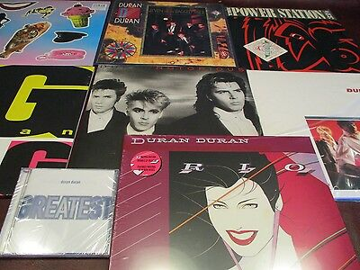 Duran Duran S/t Rio Notorious Tiger 13 Lps + Power Station Original Lp + Hits Cd
