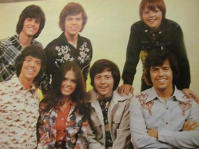 The Osmond Brothers, Donny, Osmonds, Full Page Vintage Pinup