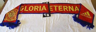 Spain Home 2016/17 Gloria Eterna Official Licensed Adidas Scarf New