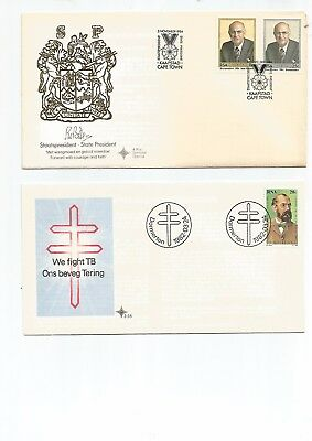 South Africa 4 F D C's .3 RSA , 1 SWA, 1982 , Not Addressed, Nice . See Scan