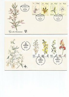 South Africa 4 F D C's . 1981 , Not Addressed, Nice . See Scan