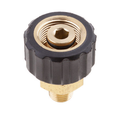 Wash Jet Quick Connector Coupling Male 1/4 To Female M22x1.5 14mm Adapter