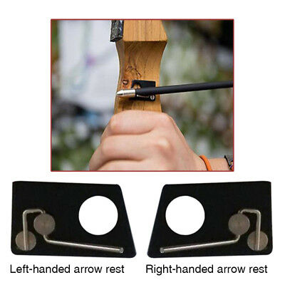 New Arrow Rest Magnetic Stainless Steel R/L Archery Hunting Recurve Bow Supplies