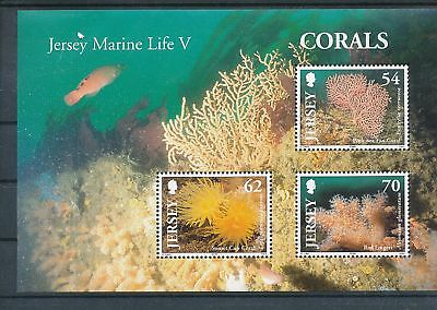 38842/ Fauna Tiere Animals ** MNH Block Jersey Corals