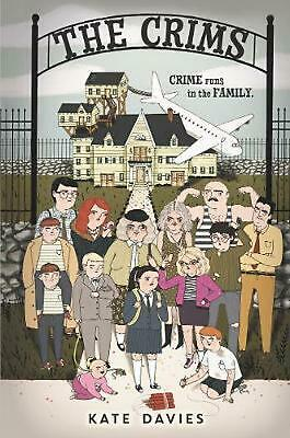 The Crims by Kate Davies Hardcover Book Free Shipping!