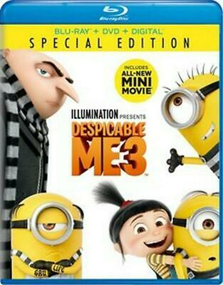 Despicable Me 3 - Blu-Ray Region 1 Free Shipping!