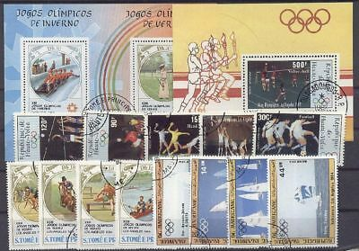 Olympiade, Olympic Games, Sport - LOT gestempelt used