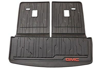 2017-2018 GMC Acadia Integrated Cargo Area & Back of Seat Liner Mat 23398828 OEM