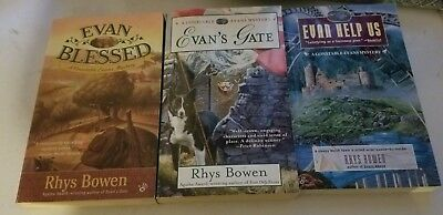 Lot Of 3 Constable Evans Mystery Books By Rhys Bowen - Evan