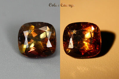 1.475 Ct  Earth Mined Unique Dazzling 100% Natural Dancing' Color Change Axinite