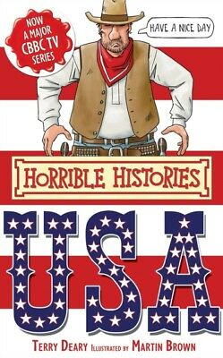 The USA (Horrible Histories Special) (Paperback), DEARY, TERRY, B. 9781407111858