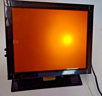 VTG Kodak Utility Safelight Lamp Model C Darkroom Safe Light - TESTED WORKING #1