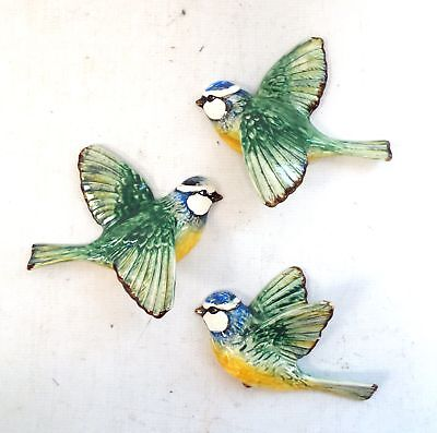 Set Of 3 BESWICK BIRD Wall Hanging Ornaments  - S45