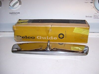 Vintage nos original GM 64-72 Delco Guide Glare-proof Rearview Mirror chevy ss