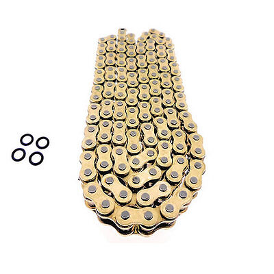 160 Link Heavy Duty 530 Gold O Ring Drive Chain Extended Swingarm Motorcycle