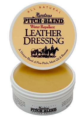 Montana Pitch Blend Leather Conditioning Balm, Product Of The U.S.A. 4 Ounce