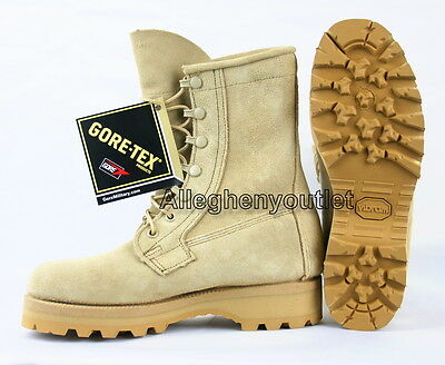 Youth Boys Military Cold Weather WATERPROOF GORETEX Work Farm Hunting Boots 3 N