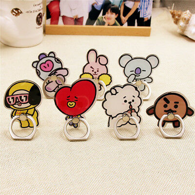 KPOP BTS Phone Stand Holder Bangtan Boys Cellphone Holder Love Yourself BT21