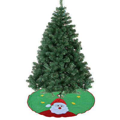 5-7.5ft Christmas Tree w Metal Stand Decorate Ornament Xmas GREEN Realistic Pine