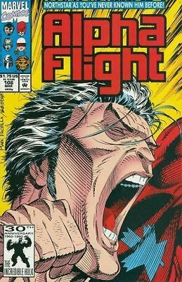 Alpha Flight #106 Vol.1 Vf/nm (X-Men)