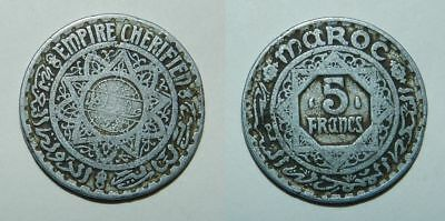 Old Coin From French Morocco