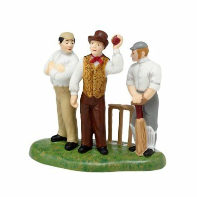 Retired Dept 56 Dickens Village - Awaiting The Umpire's Call - New in Box