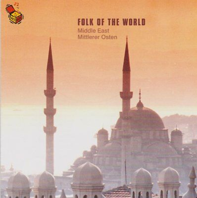 CD Folk Of The World Middle East Mittlerer Osten CD Album ZYX Records