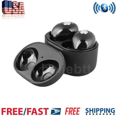 Wireless Bluetooth Earbuds In Ear Headphone For Apple iPhone 6 7 8 X Andriod USA