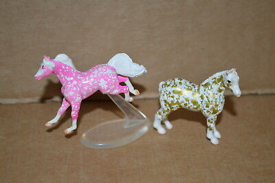 Breyer*SURPRISE*Set #1 GOLDEN & Set #2 STRAWBERRY*Mini-Whinnies*BOTH*Very RARE!!
