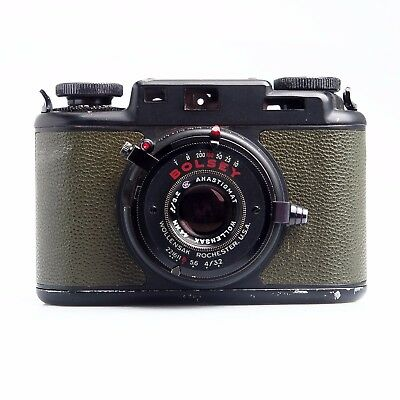 Bolsey PH-324A 35mm B2 Rangefinder Camera US Army Signal Corps Military Green