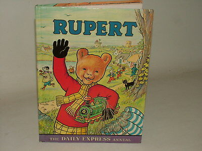 Rupert Bear Bronze Age Annual Vintage 1976 Upside Down Cover!! Super Scarce