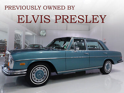 1971 Mercedes-Benz Other 280SEL, purchased new by Elvis Presley! 1971 Mercedes-Benz 280SEL, known to be one of Elvis Presley's favorite cars!