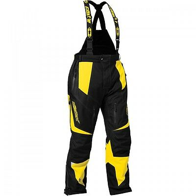 Castle X Fuel G6 Pant Yellow Ski Doo Hi Vis yellow Mens size Large #73-7236