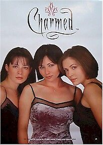 CHARMED POSTER ~ WHITE 27x39 Shannen Doherty Alyssa Milano Holly Marie Combs