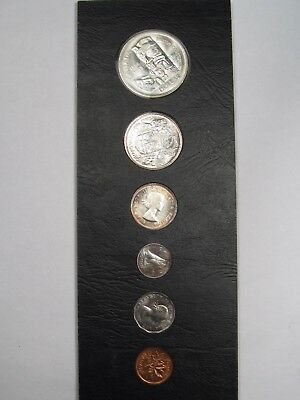 6 Coin Proof-Like Canadian Silver 1958 Set.  #6