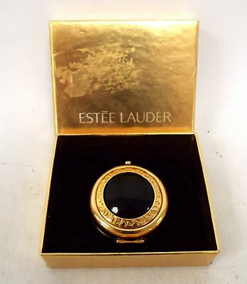 "ESTEE LAUDER ""The Attitude Compact"" Powder Compact With Mood Stone - C59"
