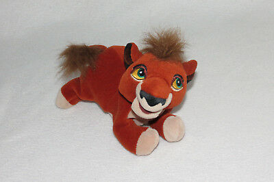 Disney Lion King 2 II Simbas Pride Kovu Son Bean Bag Plush Stuffed Doll Toy 8""