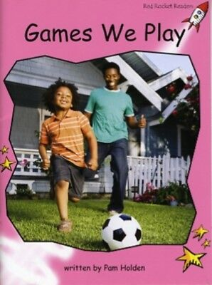 Games We Play: Pre-reading (Red Rocket Readers: Non-fiction Set A...