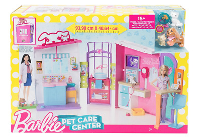 Barbie Pet Care Centre Playset FBR36 Brand New in Box