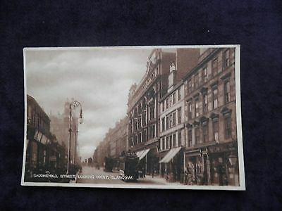 Old W. H. & Co. Scottish Postcard Of Sauchiehall Street, Glasgow