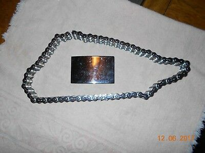 """Vintage  Easy Rider Primary Chain Motorcycle Biker Belt 33 1/2""""  Double Row"""