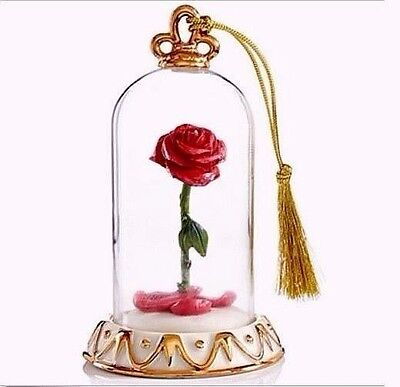 Lenox Disney Beauty and the Beast Rose Ornament NEW IN BOX!