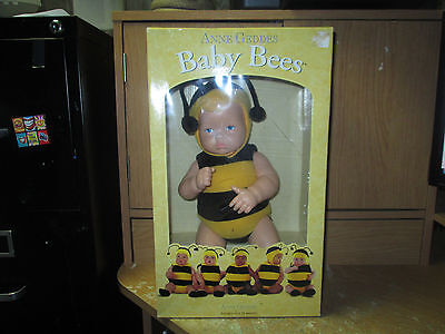 Baby Bees Doll By Anne Geddes. New In Open Box!  Check It Out!